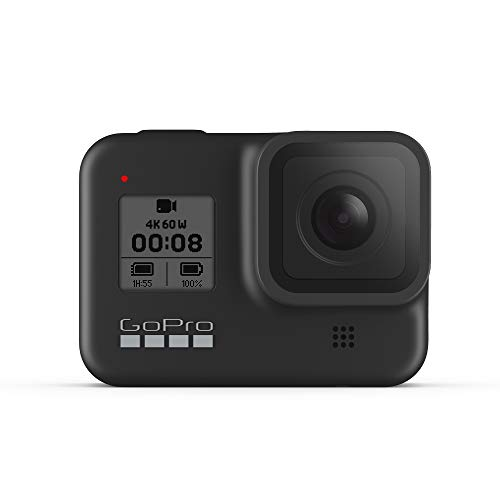GoPro HERO8 Black - Waterproof Action Camera with Touch Screen 4K Ultra HD Video 12MP Photos 1080p...
