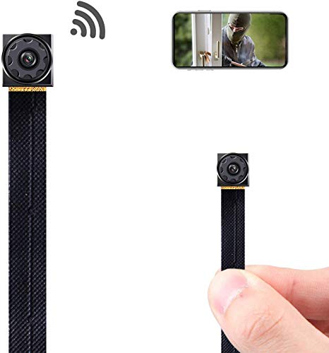 Mini Spy Camera Wireless Hidden Camera WiFi Tiny Hidden Spy Camera 1080P Covert Home Monitoring...