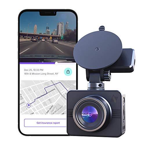Nexar Beam GPS | Full HD 1080p Dash Cam | 2021 Model | 32 GB SD Card Included | Unlimited Cloud...