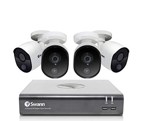 Swann 8 Channel 4 Camera Security System
