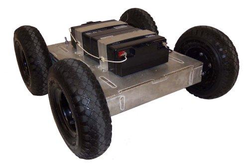 SuperDroid Robots 4WD Robot Platform