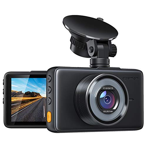 APEMAN Dash Cam 1080P FHD DVR Car Driving Recorder