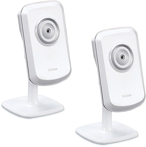 D-Link Wireless Day Only Network Surveillance Camera Two-Pack with mydlink-Enabled (DCS-930L/2)
