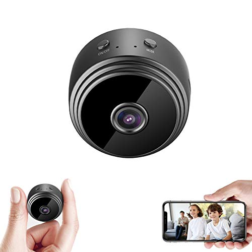 32GB Mini HD 1080P Wireless Hidden Camera,Home WiFi Remote Security Cameras,Smart Motion Detection...