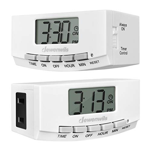 DEWENWILS Indoor Outlet Timer