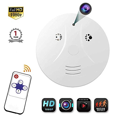 Amaiya Hidden Camera Smoke Detector