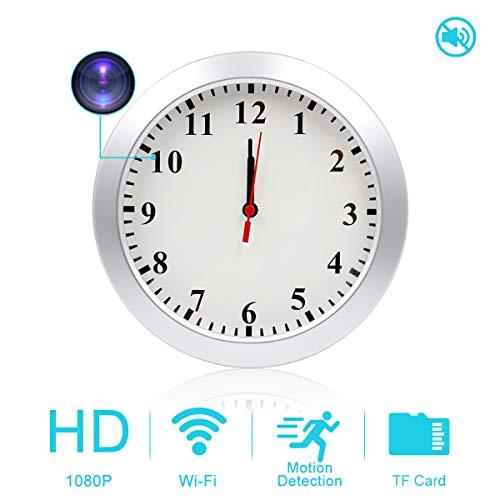 AMCSXH WiFi Hidden Camera Clock
