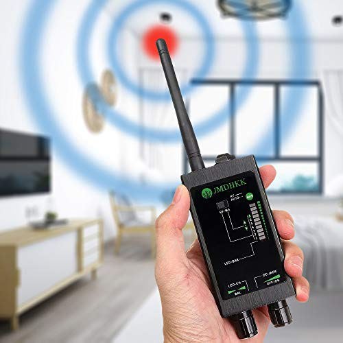 Bug Detector Anti spy RF Signal Detector Bug Sweeper Spy Scanner Anti Tracking Strong Magnetic...
