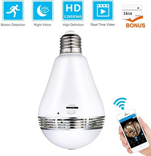 Meco Wi-Fi Bulb Light Camera
