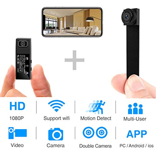WBESEV Wi-Fi Mini Spy Camera