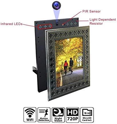 NuCam Photo Frame Spy Camera