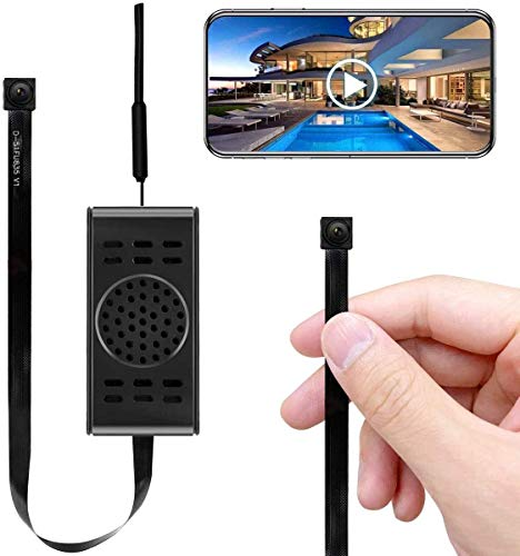Spy Camera WiFi Hidden Cameras with Motion Detection, Mini Wireless Remote Live View with Free Phone...