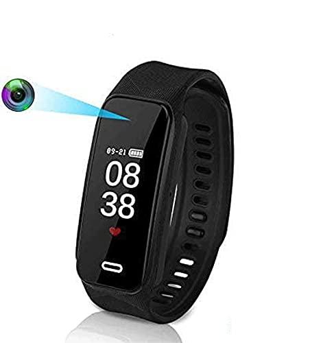 Hidden Camera Bracelet Camera HD 1920×1080P Wristband Watch Camera Spy Camera with Smart Sport...