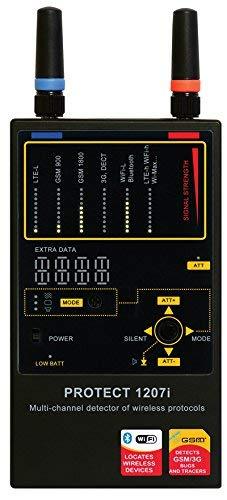 SpyTec Anti Spy RF Signal Bug Detector