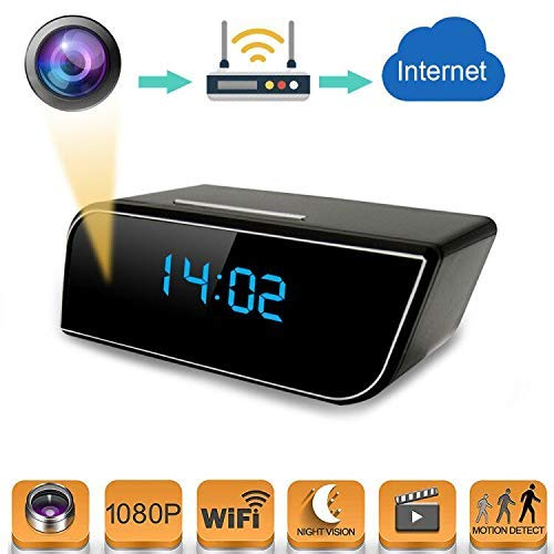 Pin Yuan Alarm Clock Spy Camera