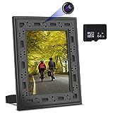NuCam Yieye WiFi Photo Frame Hidden Spy Camera w. 1080P Full HD 64Gb Card Included 365 Days Standby...