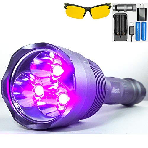 uvBeast High-Power Flashlight