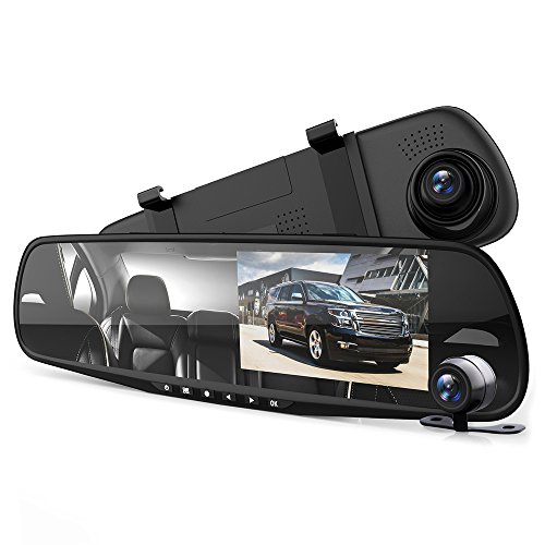 Pyle Dash Cam Rear-View Mirror
