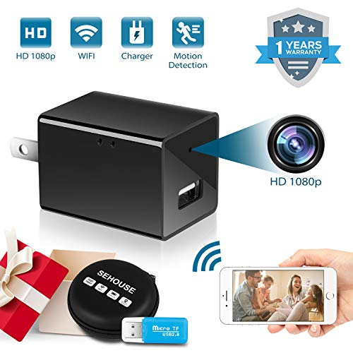 SEHOUSE Plug-in Mini Spy Camera