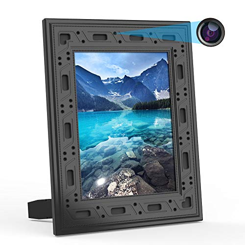 Hidden Spy Camera WiFi Photo Frame 1080P Home Security Camera Night Vision and Motion Detection...