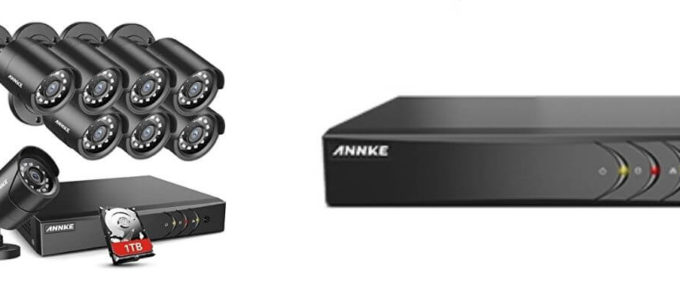 ANNKE 5MP Lite Home Security Camera System