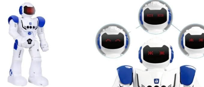 Hi-Tech Wireless Remote Control Robot Interactive RC Robot Toy Sings