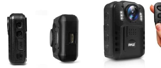 Pyle Premium Portable Body Camera