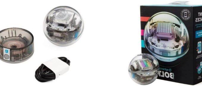 sphere bolt programmable sensors robot ball