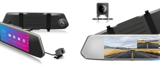 TOGUARD Backup Dash Camera